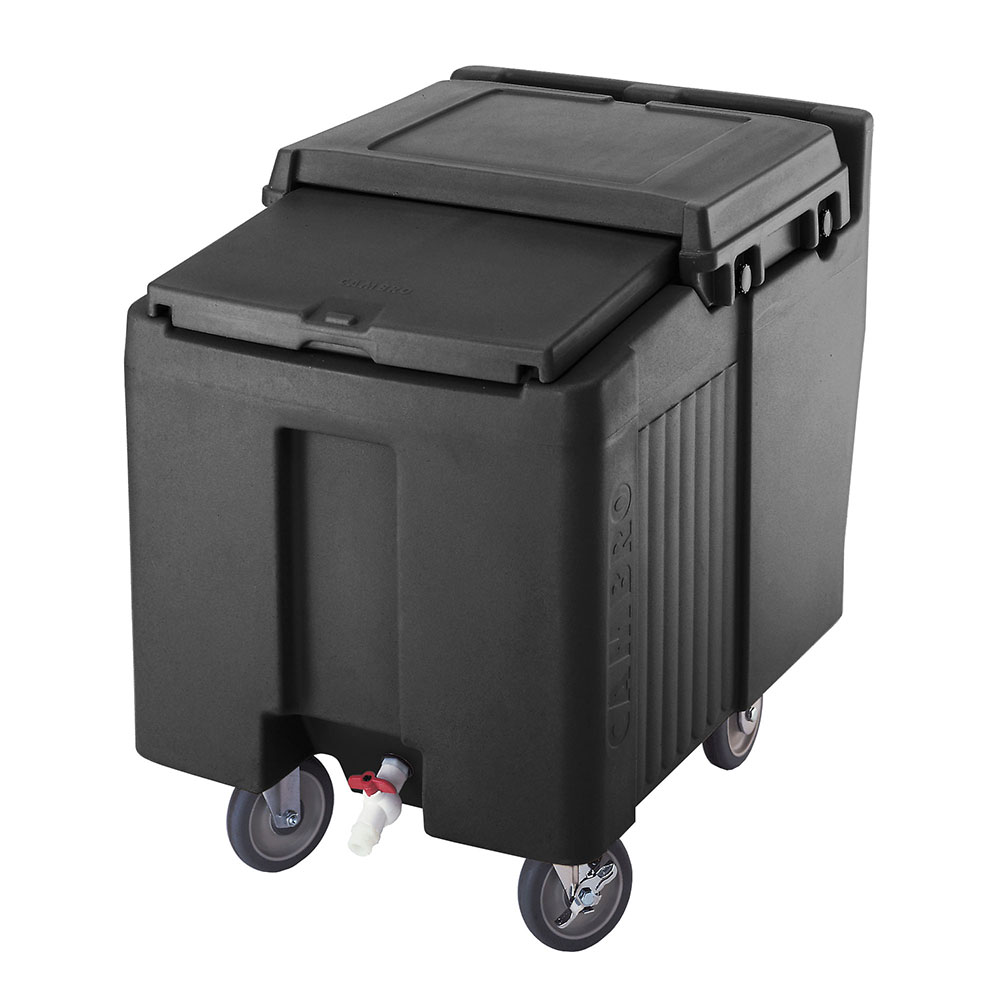 """Cambro ICS125L110 125-lb Ice Caddy - Sliding, Flat Top, 29.25"""" H"""