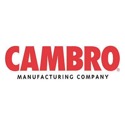 Cambro CMBR Slide Rails Set - Camtherm Hot Cart, 20x4-13/16