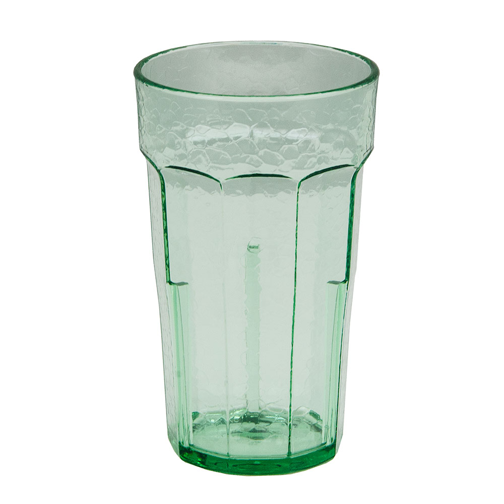 Cambro LT10427 10-oz Laguna Fluted Tumbler - Spanish Green