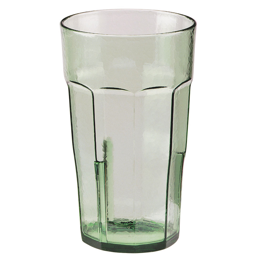 Cambro LT14427 14-oz Laguna Fluted Tumbler - Spanish Green