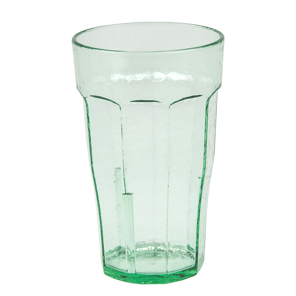 Cambro LT6427 6-oz Laguna Fluted Tumbler - Spanish Green