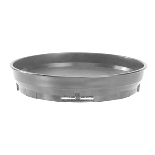 """Cambro MDSCDB9 480 9-1/2"""" Camduction Base - Speckled Gray"""