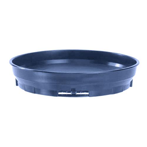 "Cambro MDSCDB9 497 9-1/2"" Camduction Base - Navy Blue"