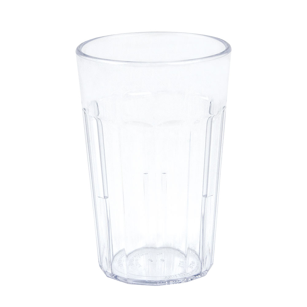 Cambro NT8152 7.7-oz Newport Fluted Tumbler - Clear