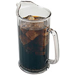 "Cambro P60CW135 60-oz Camwear Pitcher - 9x7-1/4"" Clear"