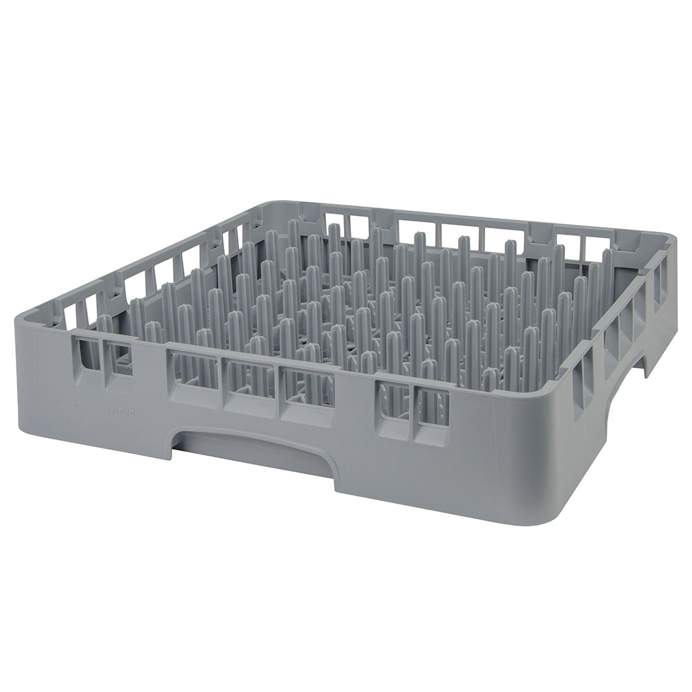 Cambro PR314151 Camrack 9x9 Peg Rack - Full-Size, Soft Gray