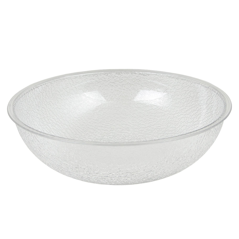 Cambro PSB12 Camwear Salad Bowl Pebbled 12 in dia. 5.8 Qt Restaurant Supply