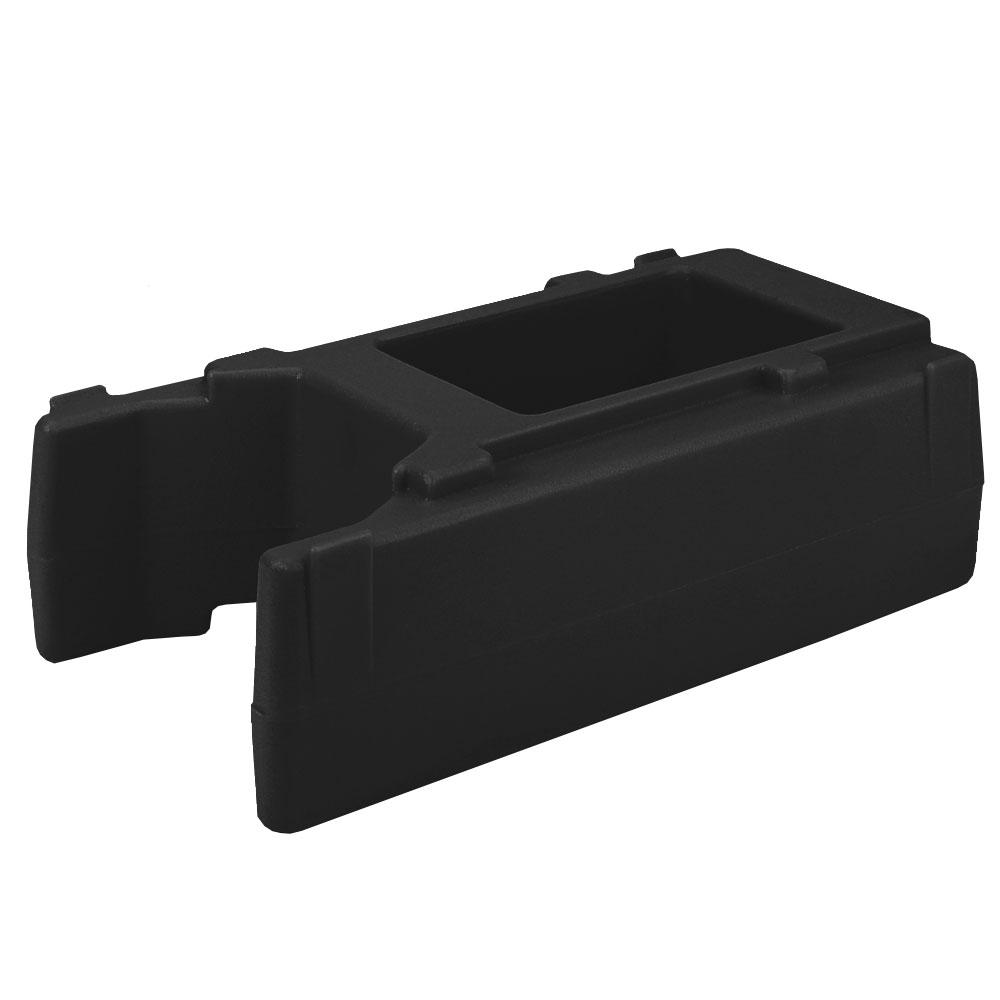 "Cambro R500LCD110 Camtainer Riser - 16-1/2x9x4-1/2"" Black"