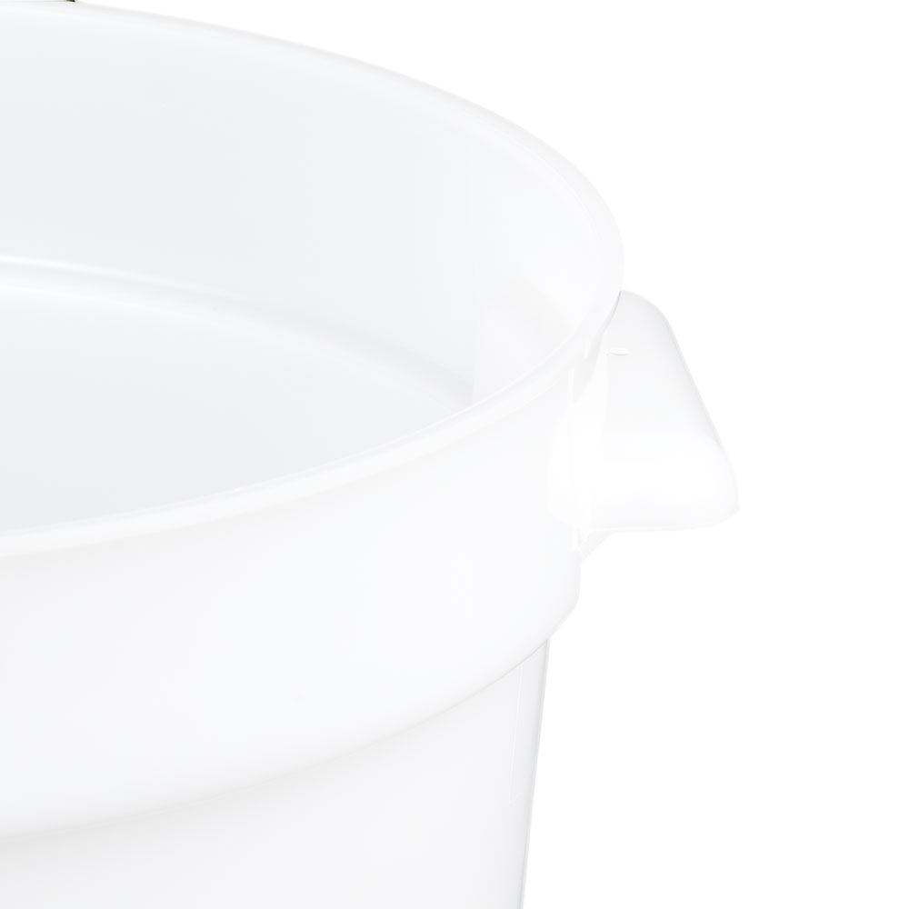 Cambro RFS12148 12-qt Round Storage Container - Natural White