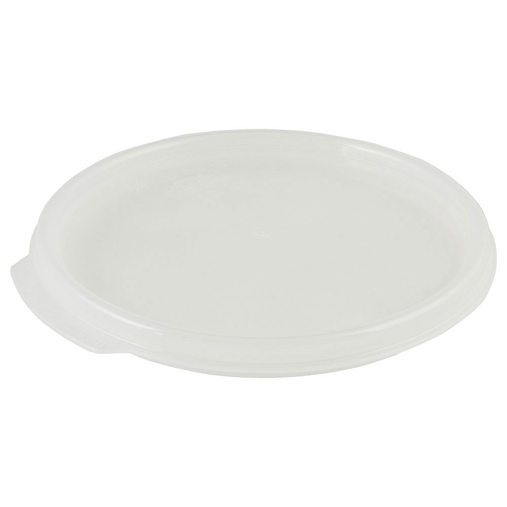 Cambro RFS2SCPP190 Camwear Seal Cover, for 2 & 4-qt Containers, Round, Translucent