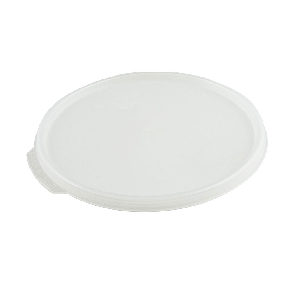 Cambro RFS6SCPP190 Camwear Seal Cover, for 6 & 8-qt Containers, Round, Translucent