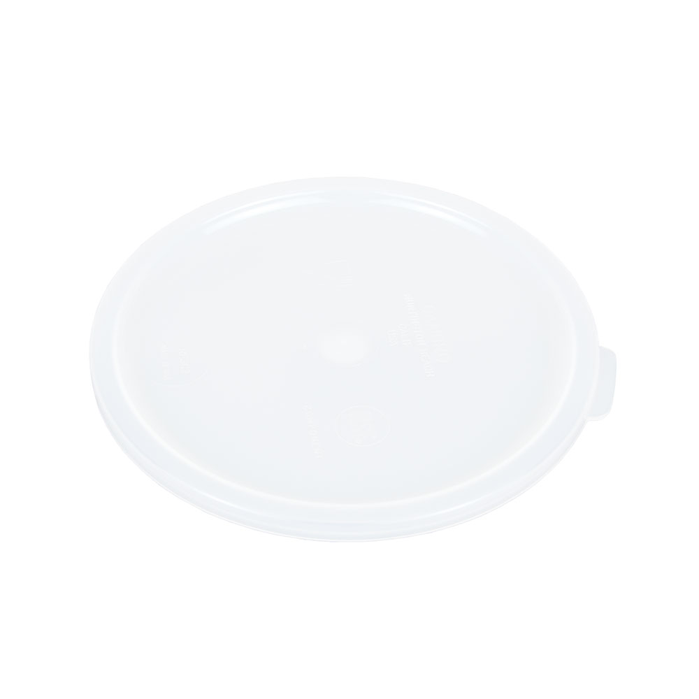 Cambro RFSC2148 Cover, for 2 & 4-qt Containers, Natural White