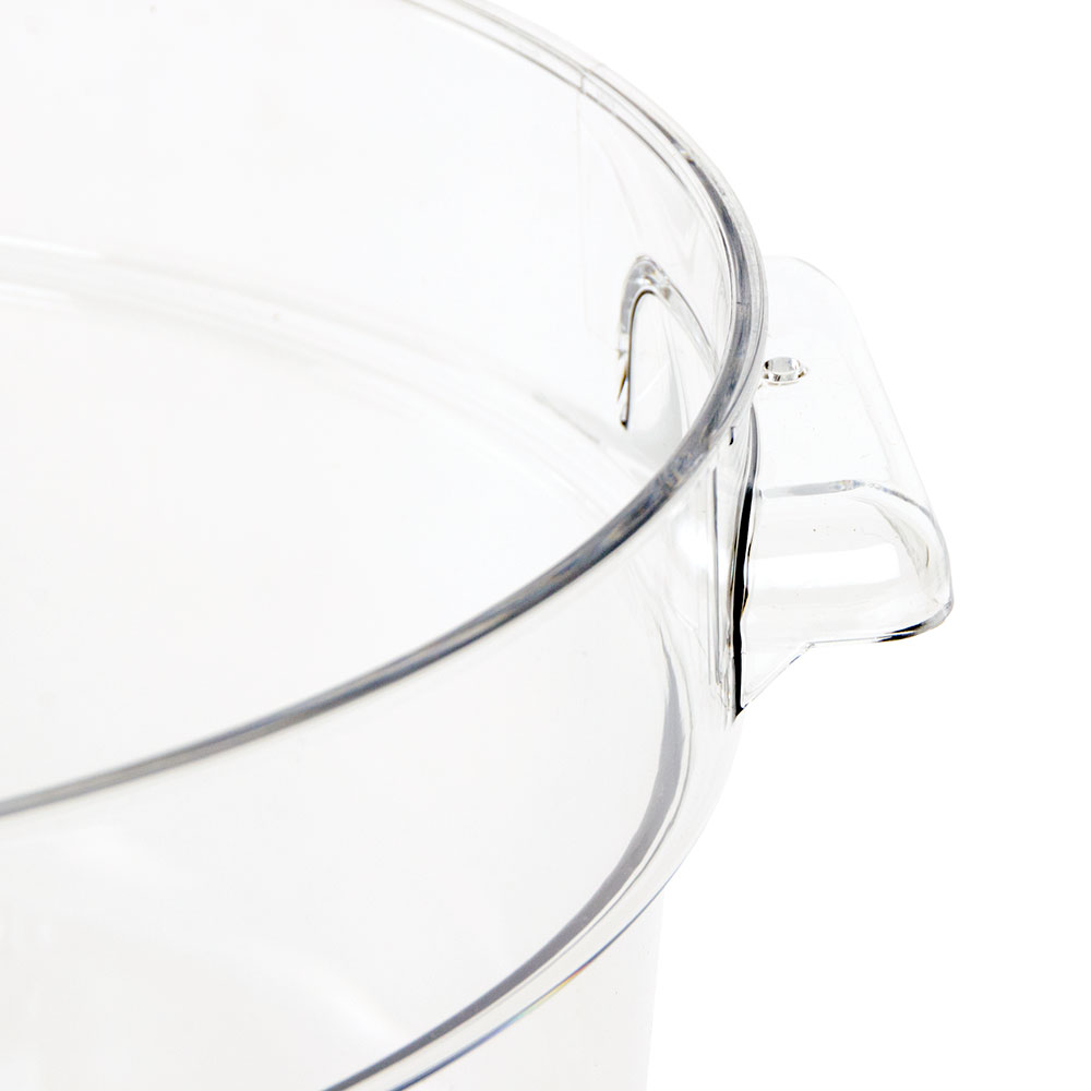 Cambro RFSCW12135 12-qt Camwear Round Storage Container - Clear