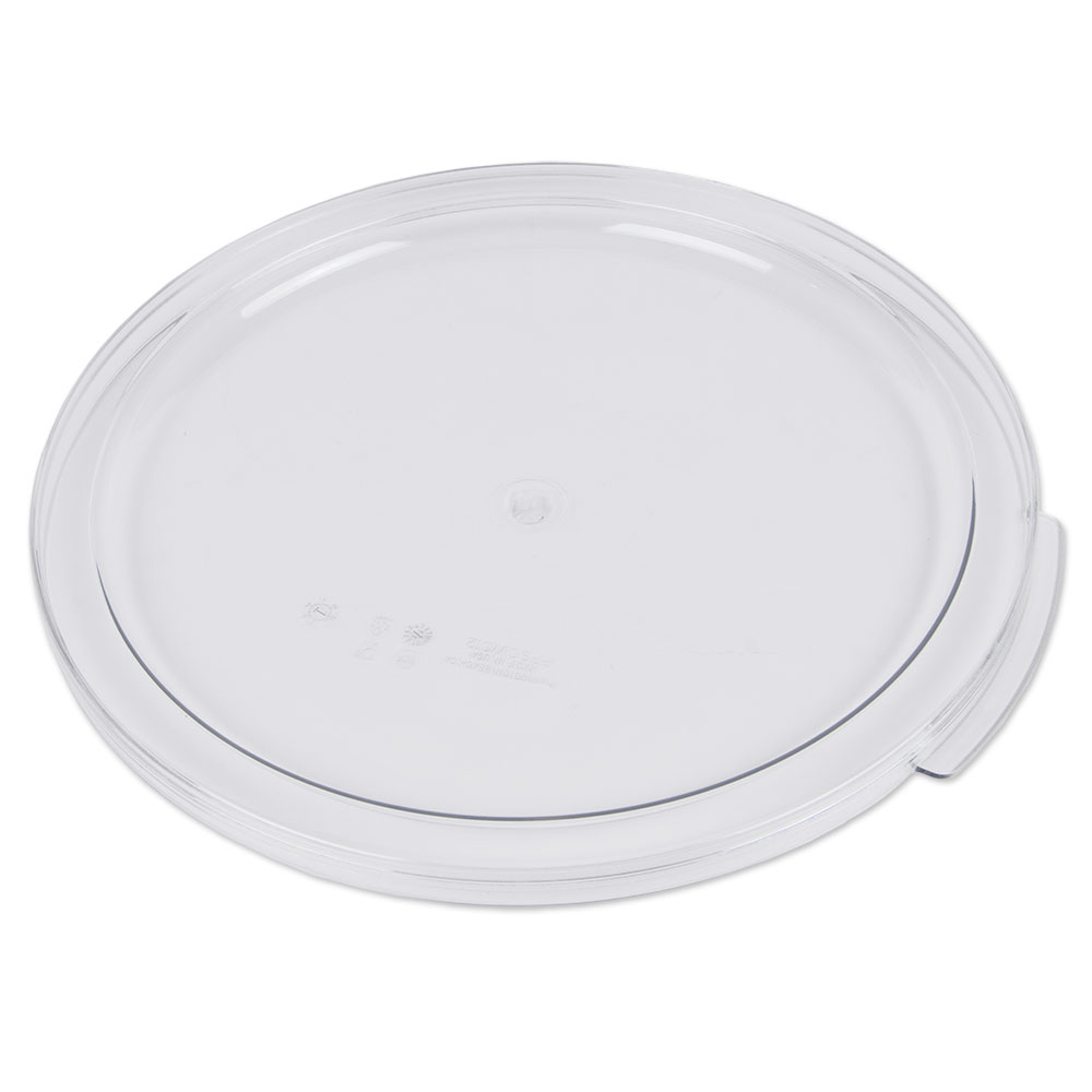 Cambro RFSCWC12135 Camwear Cover, for 12, 18 & 22-qt Containers, Clear