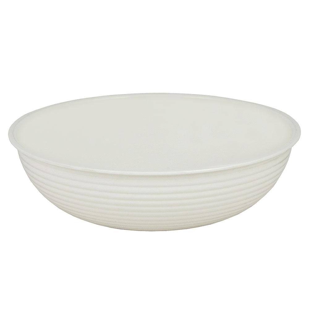"Cambro RSB10CW148 10"" Round Camwear Bowl - 3.2-qt Capacity, White"