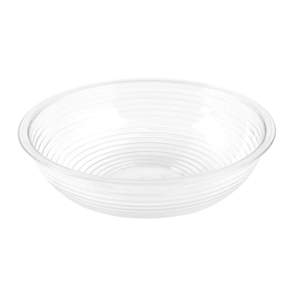 "Cambro RSB8CW135 8"" Round Camwear Bowl - 1.65-qt Capacity, Clear"