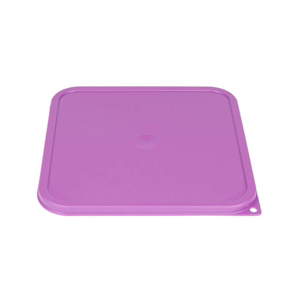 Cambro SFC12SCPP441 Cover for 12, 18 & 22-qt Containers - Allergen-Free, Purple