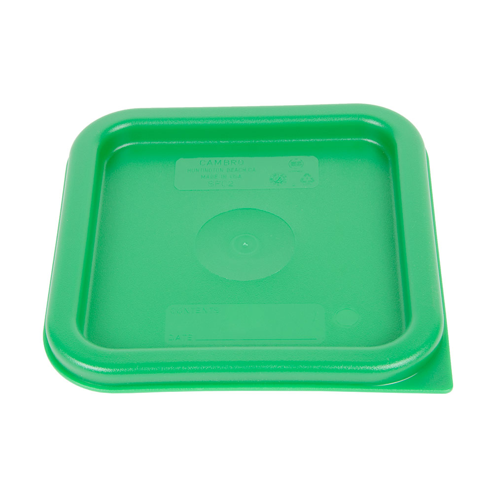 Cambro SFC2452 Cover, for 2 & 4-qt Containers, Kelly Green