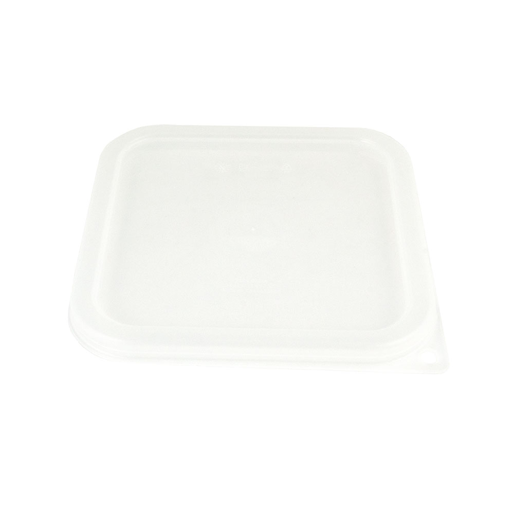 Cambro SFC2SCPP190 CamSquare Cover, for 2 & 4-qt Containers, Translucent