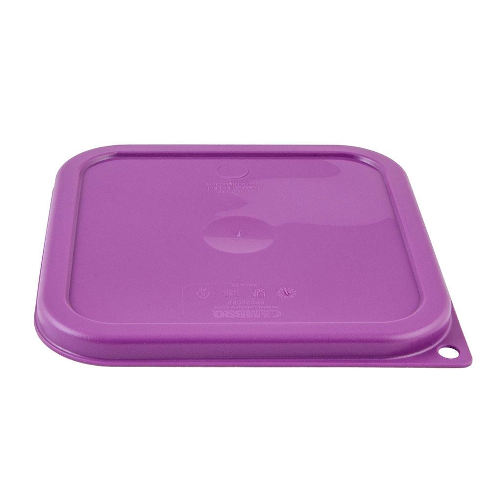 Cambro SFC2SCPP441 Cover for 2 & 4-qt Containers - Allergen-Free, Purple