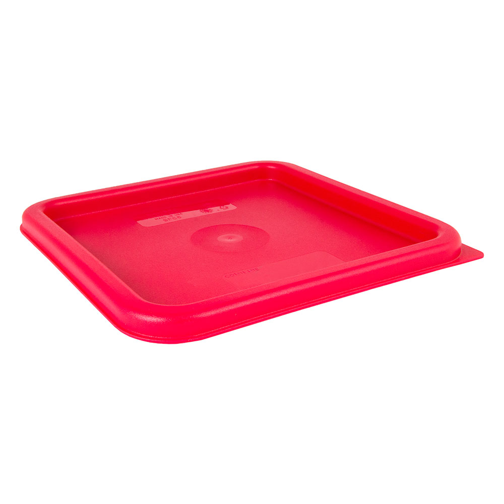 Cambro SFC6451 CamSquare Cover, for 6 & 8-qt Containers, Winter Rose