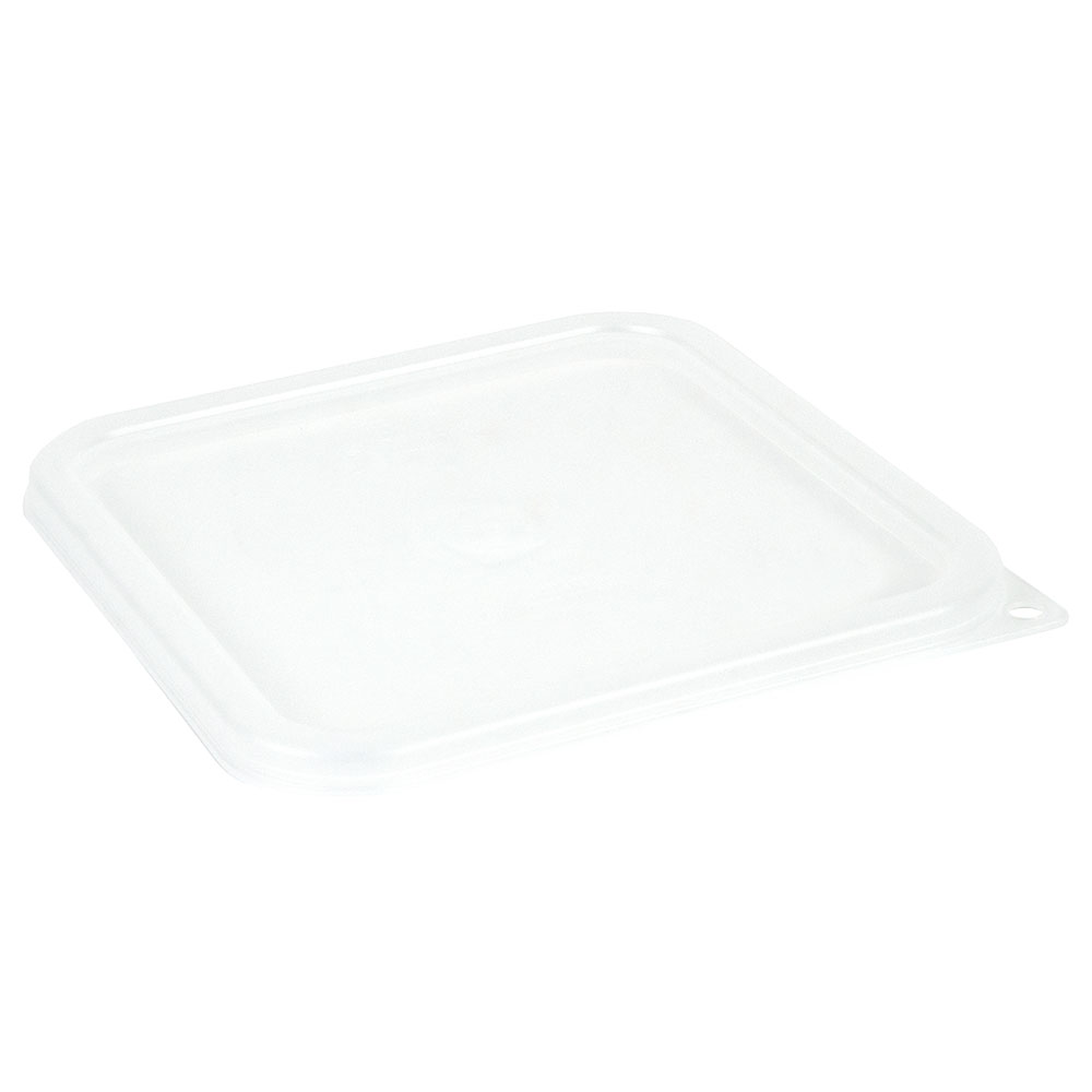 Cambro SFC6SCPP190 CamSquare Cover, for 6 & 8-qt Containers, Translucent