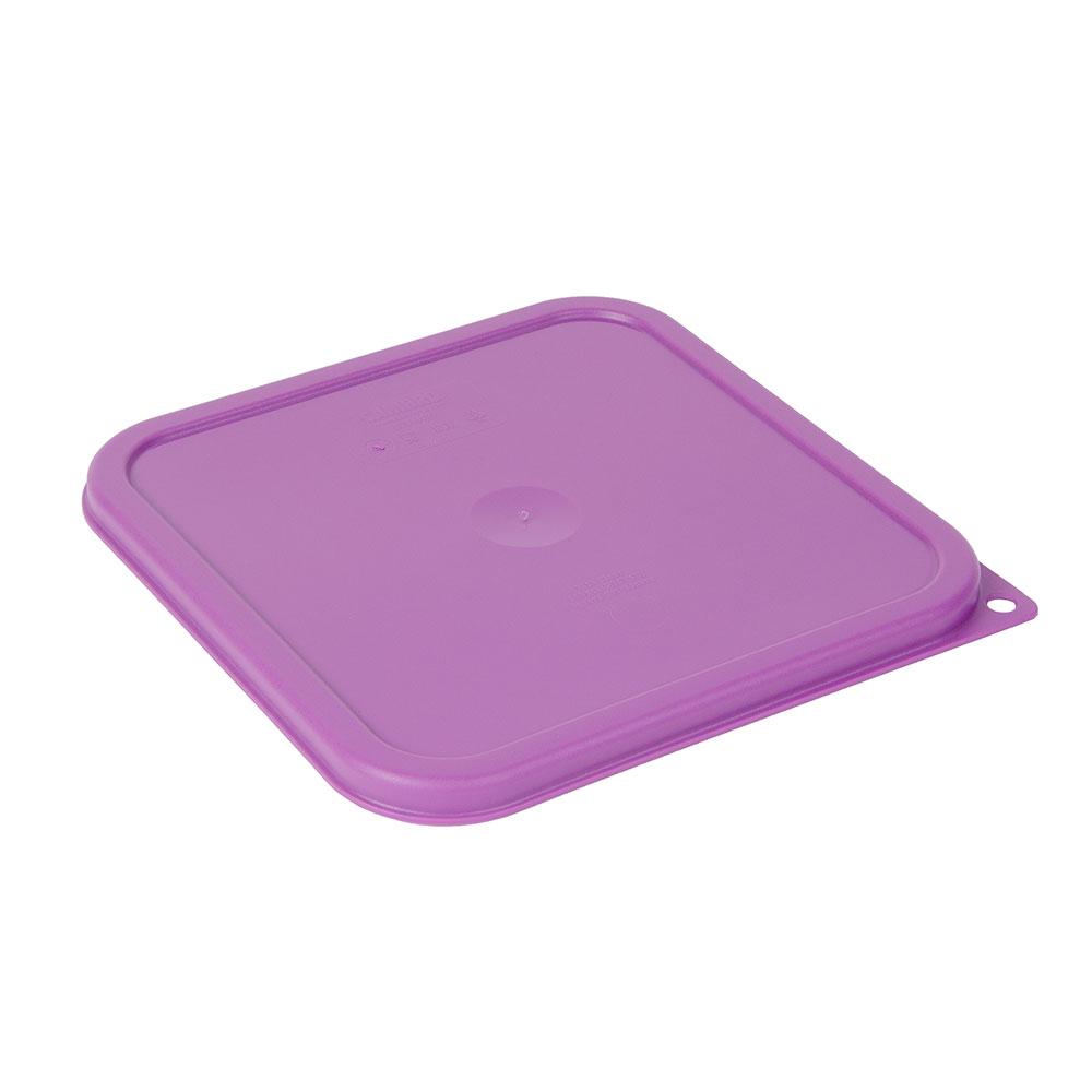 Cambro SFC6SCPP441 Cover for 6 & 8-qt Containers - Allergen-Free, Purple