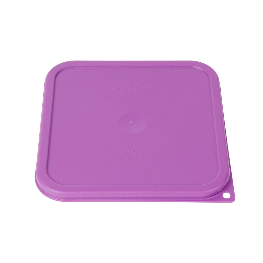 Cambro SFC6SCPP441 Cover for 6 & 8-qt Containers - Allergen-Free, Purple