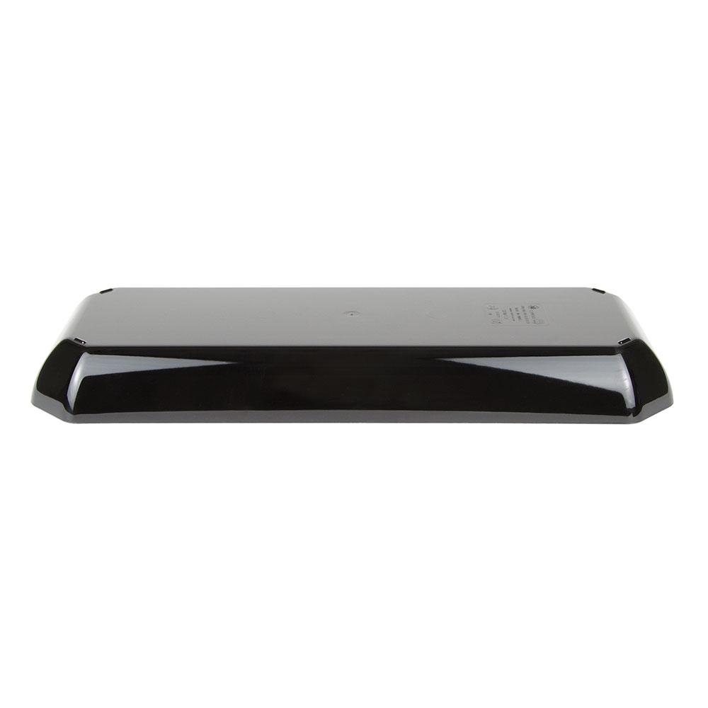 "Cambro SFG820110 Octagonal Display Tray - 8x20x2"" Black"