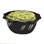 Cambro SRB13110 13-oz Swirl Serving Bowl - SAN, Black