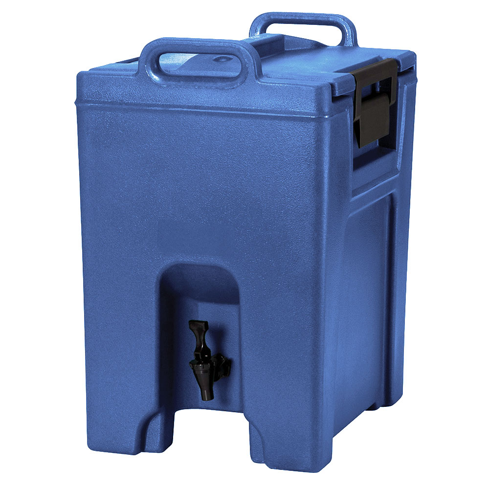 Cambro UC1000186 10-1/2-gal Ultra Camtainer Beverage Carrier - Insulated, Navy Blue