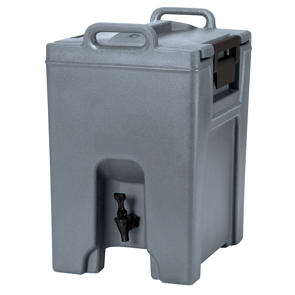 Cambro UC1000191 10-1/2-gal Ultra Camtainer Beverage Carrier - Insulated, Granite Gray
