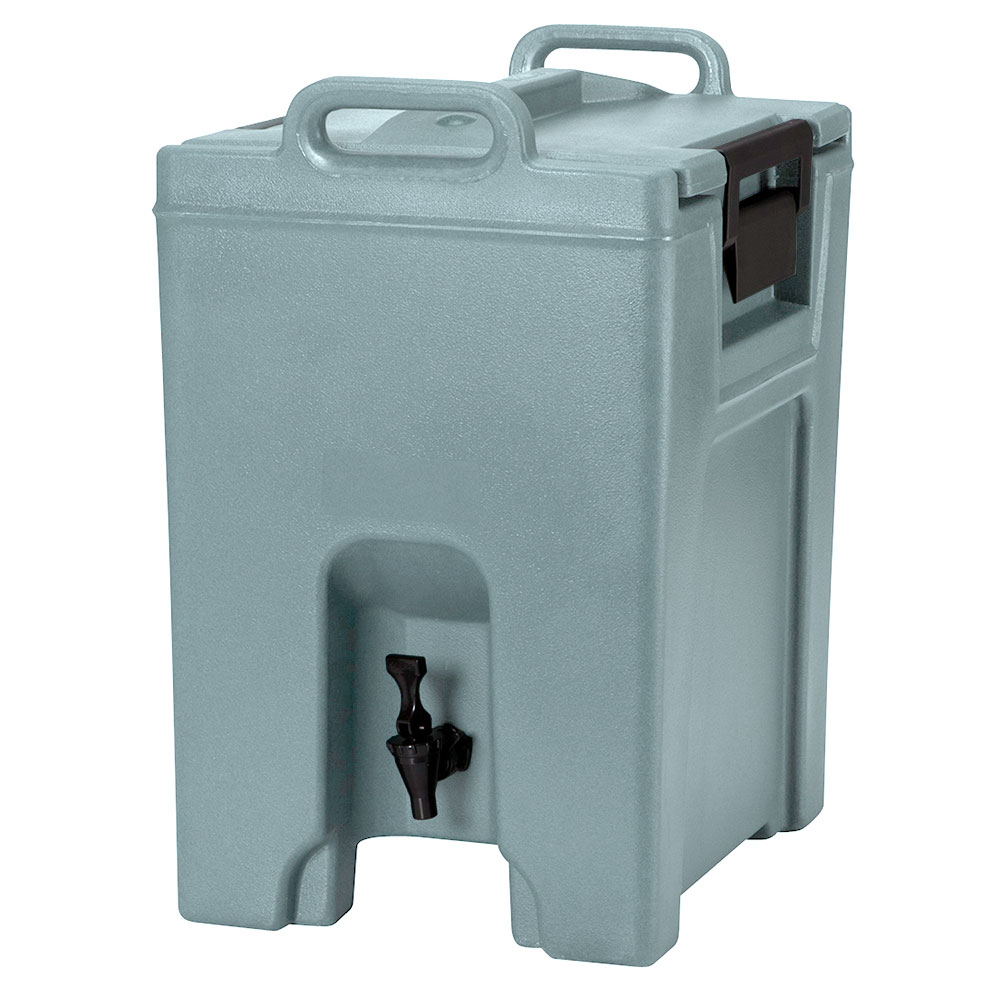 Cambro UC1000401 10-1/2-gal Ultra Camtainer Beverage Carrier - Insulated, Slate Blue