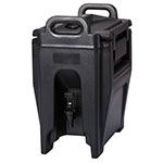 Cambro UC250110 2-3/4-gal Ultra Camtainer Beverage Carrier - Insulated, Black