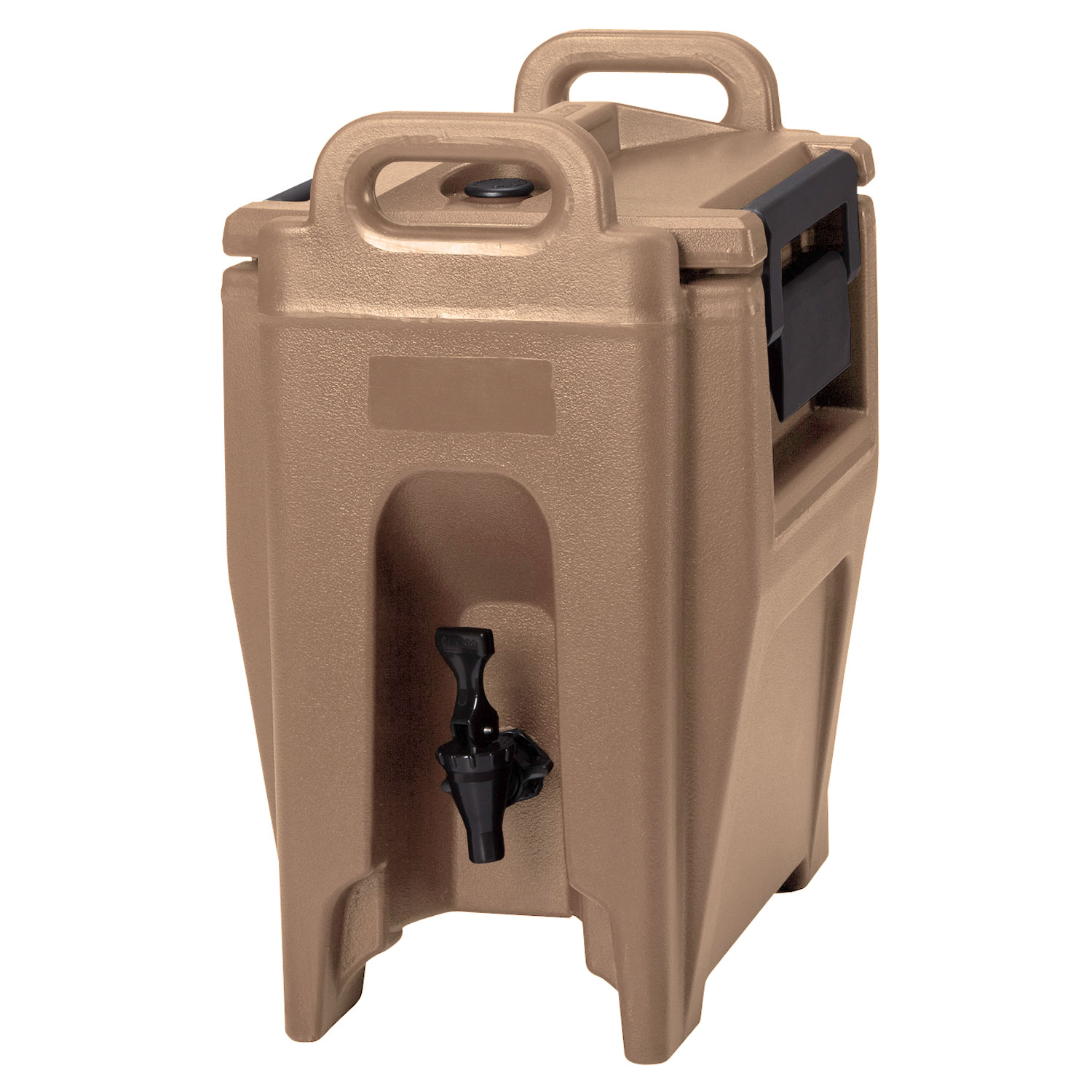 Cambro UC250157 2-3/4-gal Ultra Camtainer Beverage Carrier - Insulated, Coffee Beige