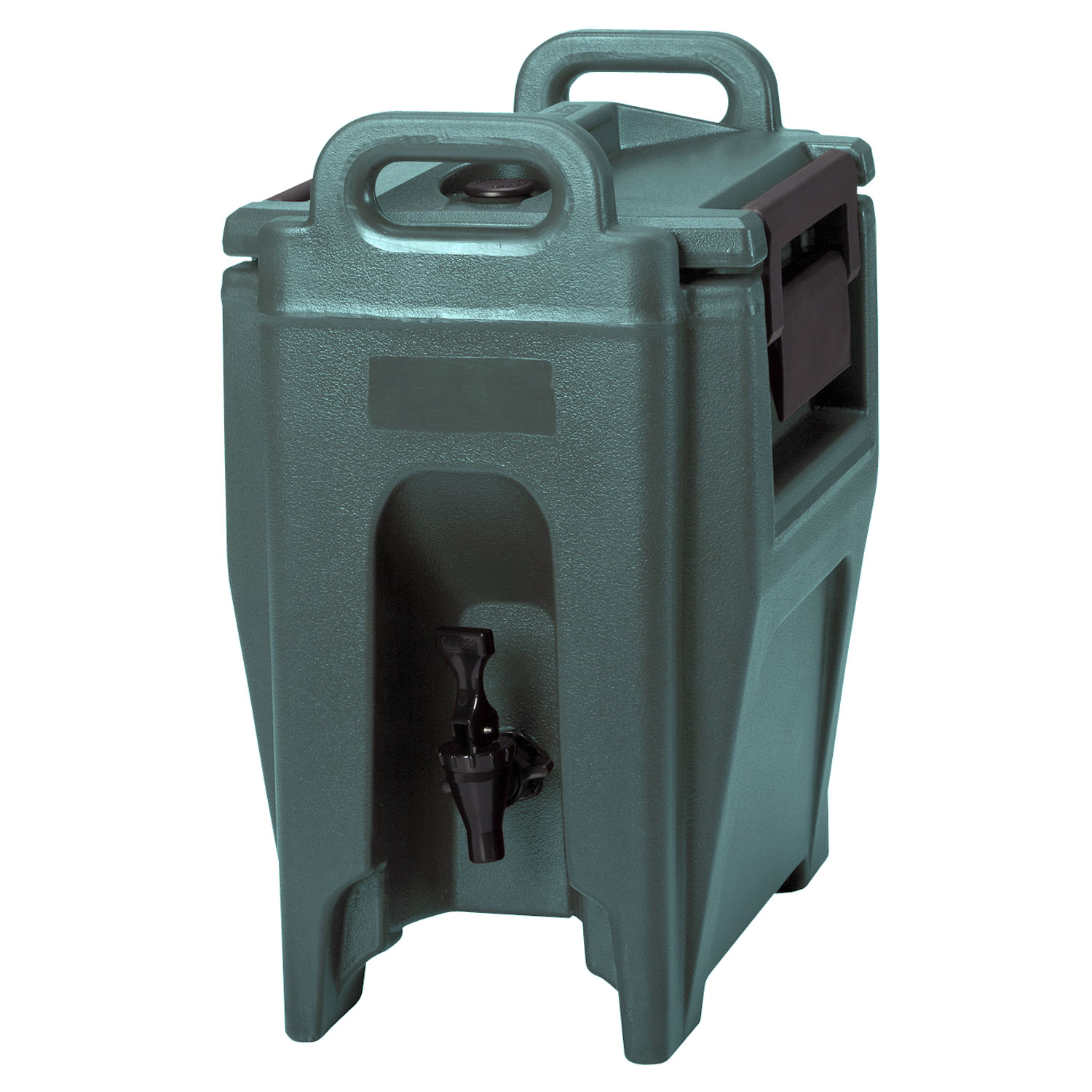 Cambro UC250192 2-3/4-gal Ultra Camtainer Beverage Carrier - Insulated, Granite Green