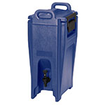 Cambro UC500186 5-1/4-gal Ultra Camtainer Beverage Carrier - Insulated, Navy Blue