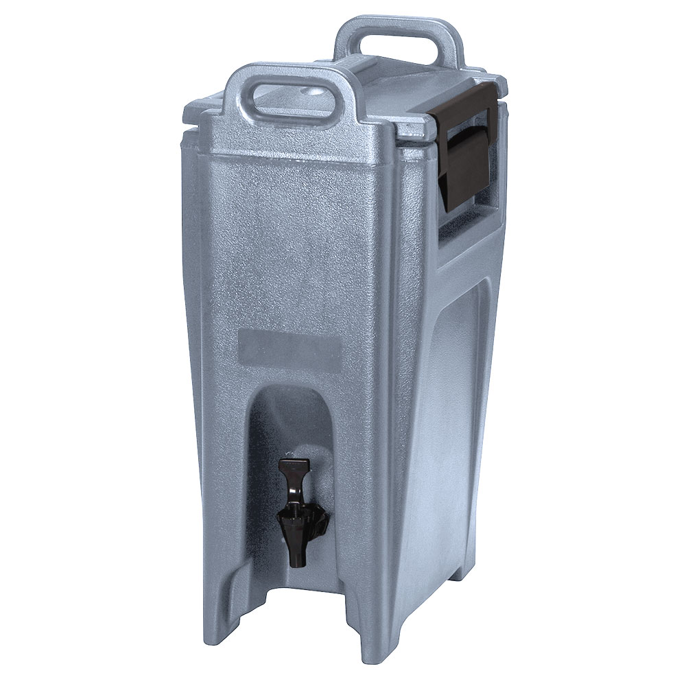 Cambro UC500191 5-1/4-gal Ultra Camtainer Beverage Carrier - Insulated, Granite Gray