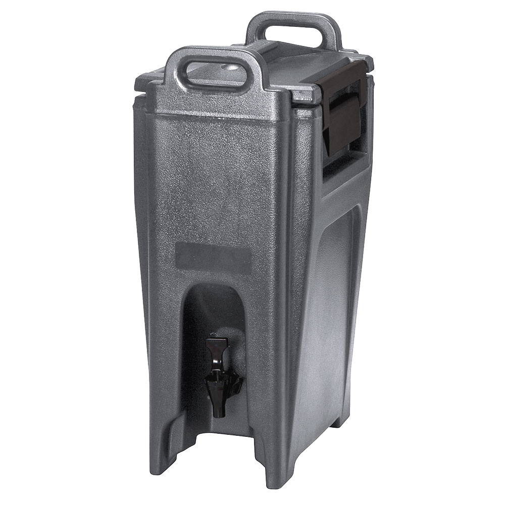 Cambro UC500194 5-1/4-gal Ultra Camtainer Beverage Carrier - Insulated, Granite Sand