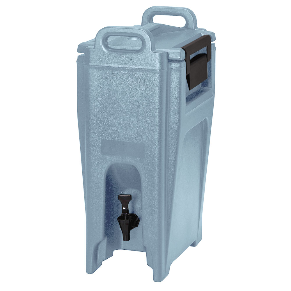 Cambro UC500401 5-1/4-gal Ultra Camtainer Beverage Carrier - Insulated, Slate Blue