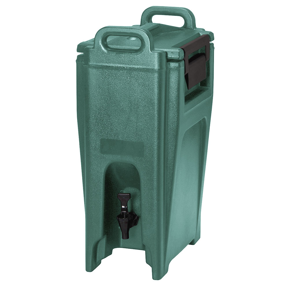 Cambro UC500519 5-1/4-gal Ultra Camtainer Beverage Carrier - Insulated, Green