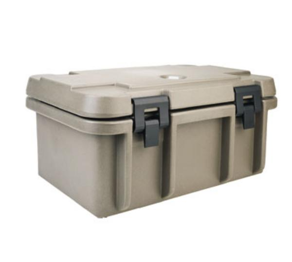 Cambro UPC101191 Camcarrier Pancarrier, 24 Qt, 8 in Deep, Granite Gray, NSF