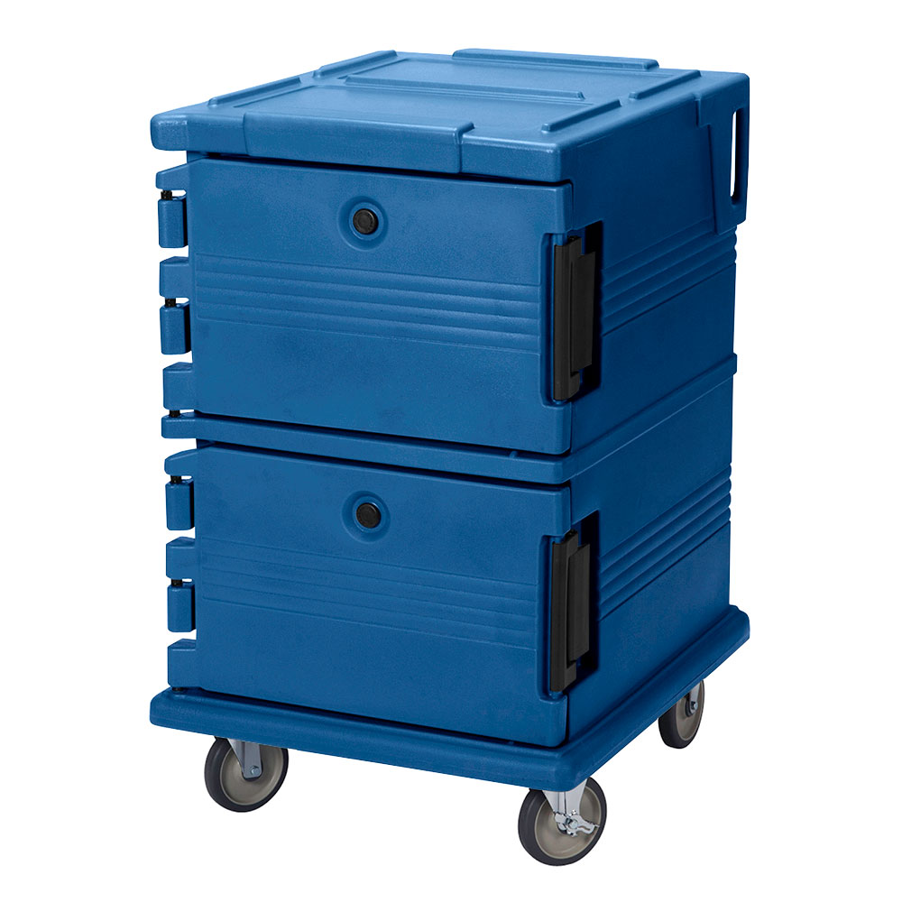Cambro UPC1200186 90-qt Camcarrier Ultra Pan Carrier - Front Loading, Navy Blue