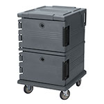 Cambro UPC1200191 90-qt Camcarrier Ultra Pan Carrier - Front Loading, Granite Gray