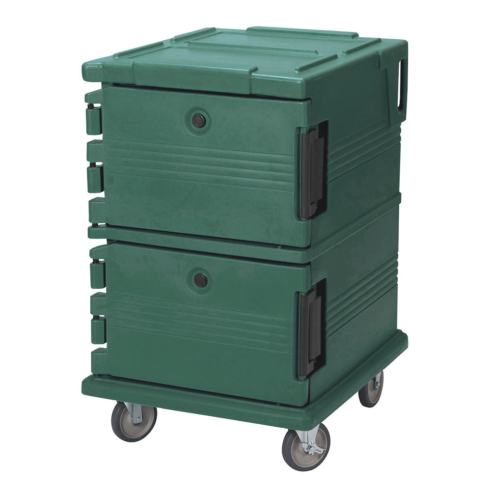 Cambro UPC1200192 90-qt Camcarrier Ultra Pan Carrier - Front Loading, Granite Green