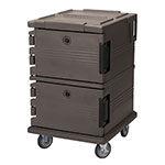 Cambro UPC1200194 90-qt Camcarrier Ultra Pan Carrier - Front Loading, Granite Sand