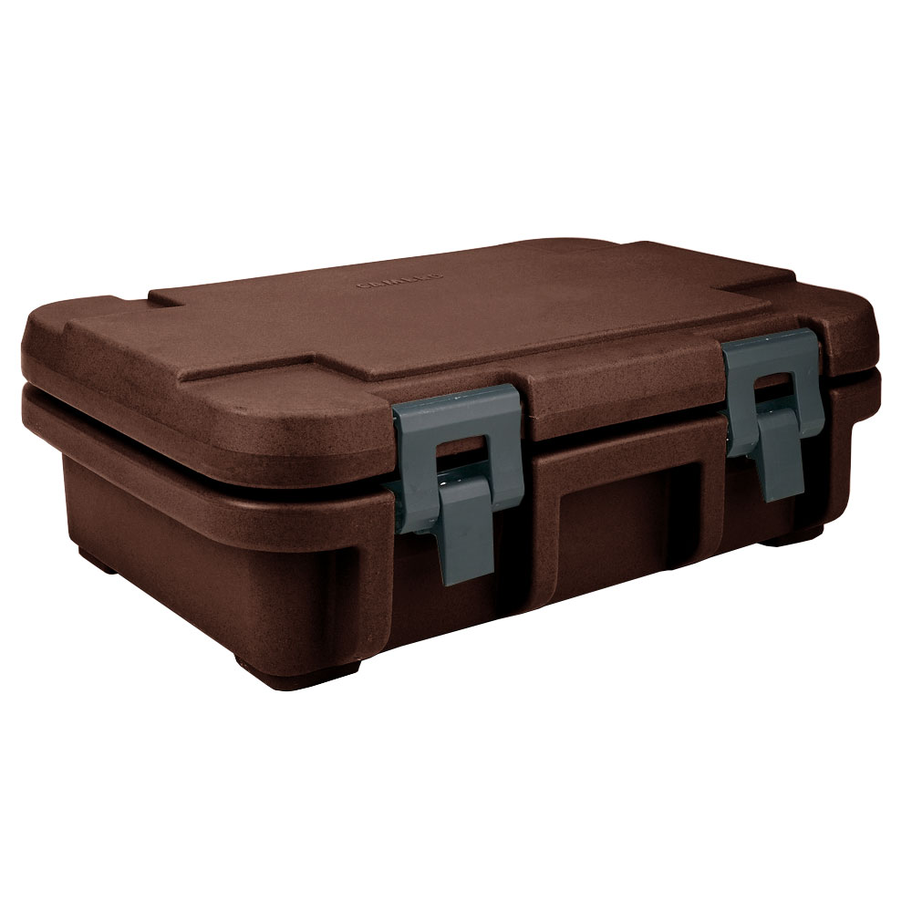 Cambro UPC140131 12-qt Camcarrier Ultra Pan Carrier - (1)Full Size Pan, Dark Brown