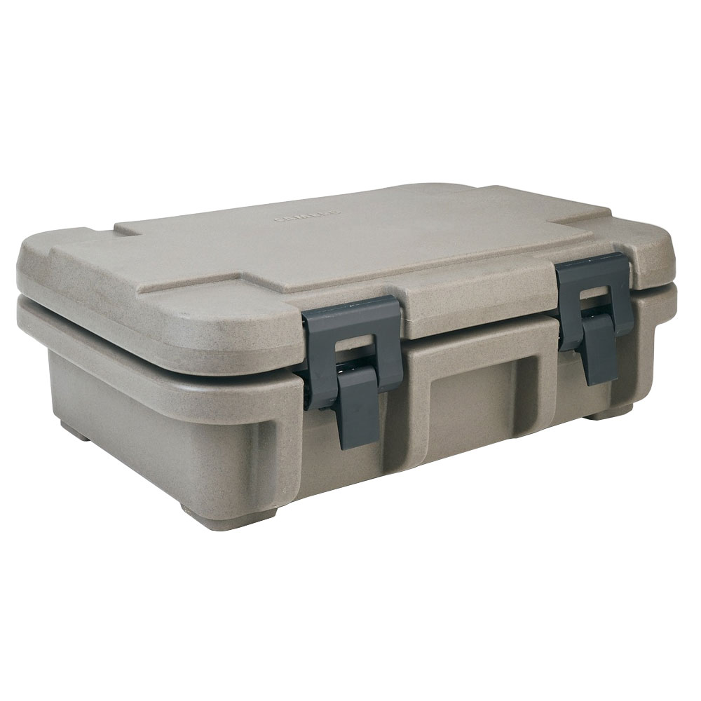Cambro UPC140194 12-qt Camcarrier Ultra Pan Carrier - (1)Full Size Pan, Granite Sand