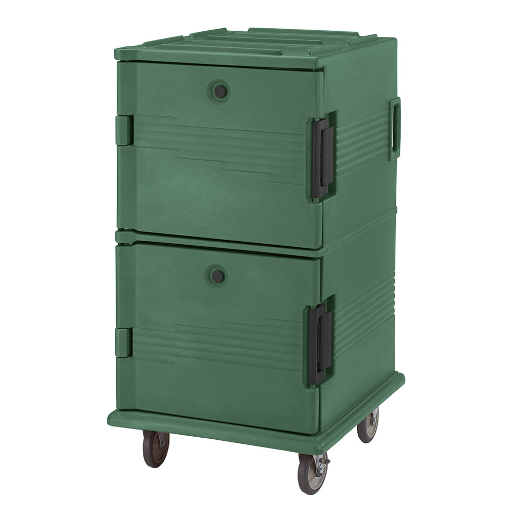 Cambro UPC1600519 120-qt Camcarrier Ultra Pan Carrier - Front Loading, Green