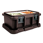 Cambro UPC160131 20-qt Camcarrier Ultra Pan Carrier - (1)Full Size Pan, Dark Brown